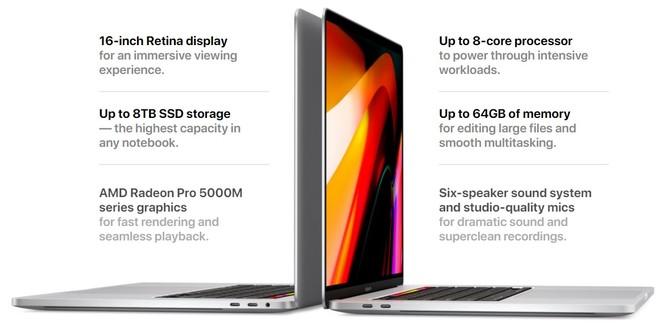 Apple Macbook Pro 16 - znamy specyfikację i ceny nowego laptopa [3]