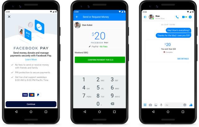 Facebook wprowadza system płatności do swoich aplikacji [2]