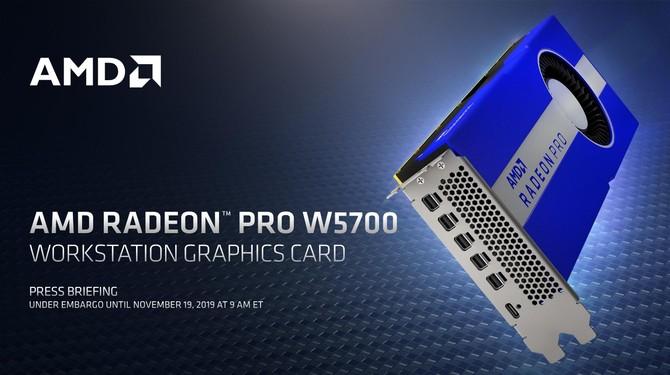 AMD Radeon Pro W5700 - nowa karta graficzna dla profesjonalistów [1]