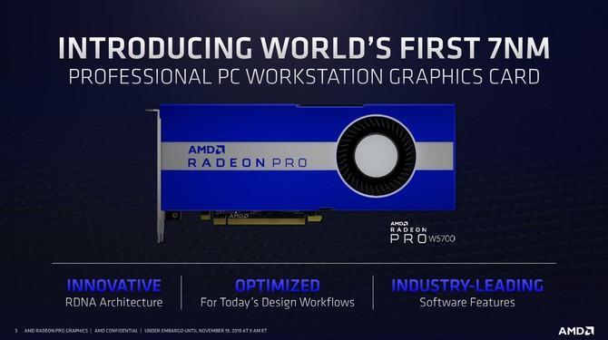 AMD Radeon Pro W5700 - nowa karta graficzna dla profesjonalistów [2]