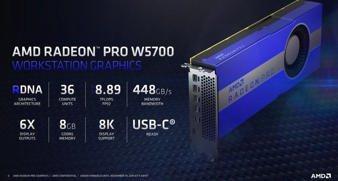 AMD Radeon Pro W5700 - nowa karta graficzna dla profesjonalistów [3]