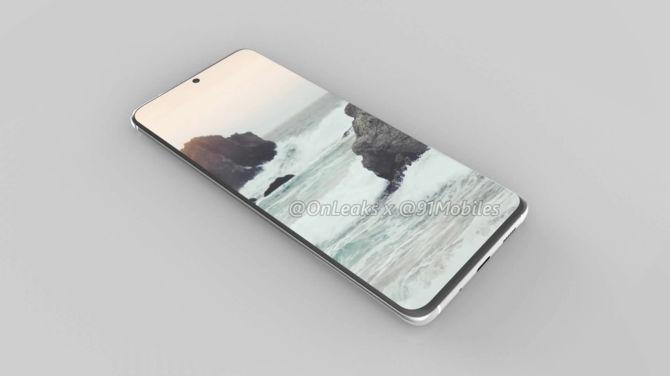 Samsung Galaxy S11 - pierwsze rendery smartfona mogą zaskoczyć [2]