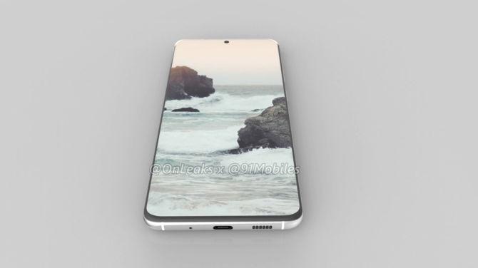 Samsung Galaxy S11 - pierwsze rendery smartfona mogą zaskoczyć [3]
