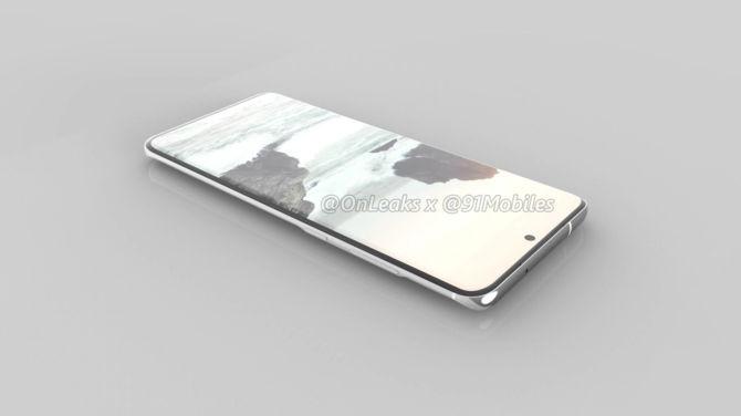 Samsung Galaxy S11 - pierwsze rendery smartfona mogą zaskoczyć [4]