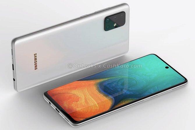 Samsung Galaxy A71 - bliźniak Galaxy S11 z baterią 4500 mAh [1]