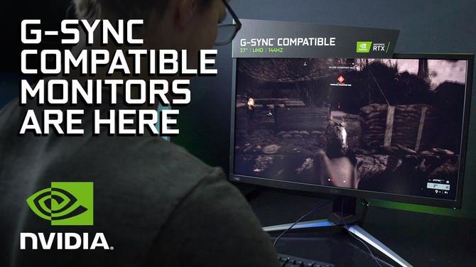 Monitory z modułem G-SYNC z obsługą kart Radeon i konsol [1]