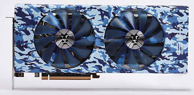 HIS Radeon RX 5700 XT - Karty graficzne w kolorowym kamuflażu  [2]