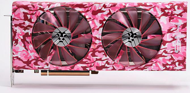 HIS Radeon RX 5700 XT - Karty graficzne w kolorowym kamuflażu  [3]