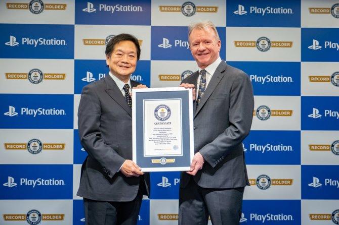 PlayStation ustanawia rekord Guinnessa w sprzedaży konsol [2]