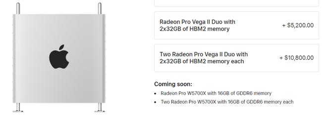 AMD Radeon Pro W5700X - profesjonalny układ dla Apple Mac Pro [2]