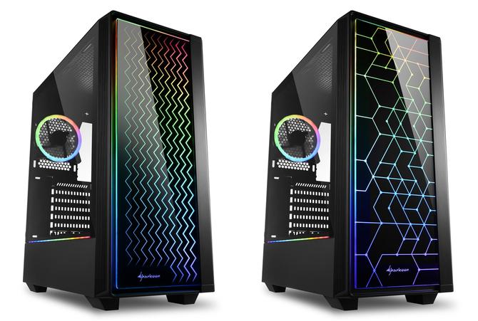 Sharkoon RGB LIT 100 i LIT 200 - Obudowy z kolorowym frontem [1]