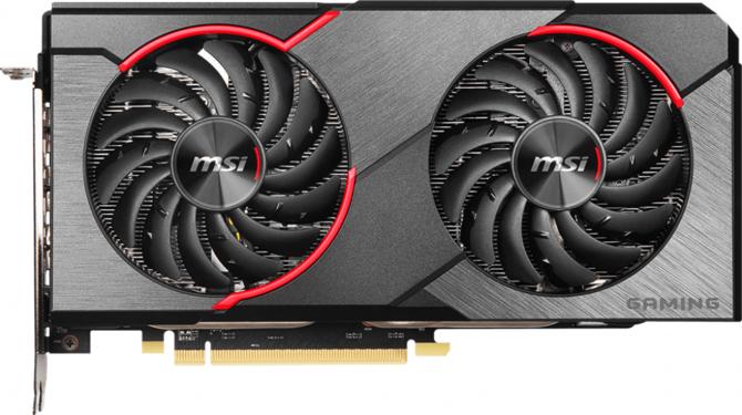 Specyfikacja MSI Radeon RX 5500 XT Gaming oraz MECH  [1]