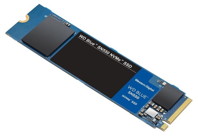 WD Blue SN550 - nowe budżetowe dyski SSD w standardzie NVMe [1]