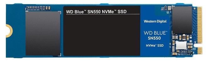 WD Blue SN550 - nowe budżetowe dyski SSD w standardzie NVMe [2]