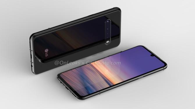 LG G9 ThinQ na pierwszych renderach. Wygląda oryginalnie [2]