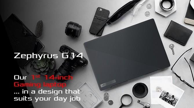 ASUS Zephyrus G14 i G15 oraz TUF Gaming FA506 z APU AMD Renoir [1]