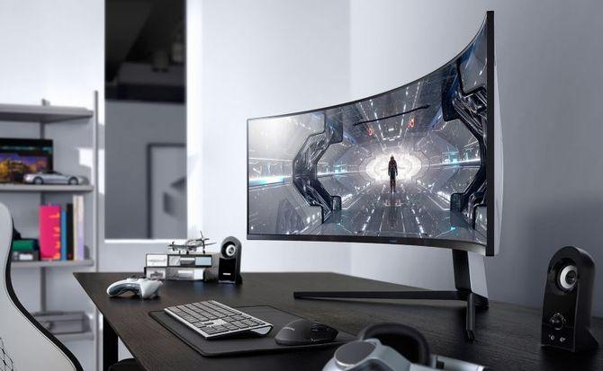Samsung Odyssey G9: 49-calowy monitor QLED, 240 Hz i 1000R [1]