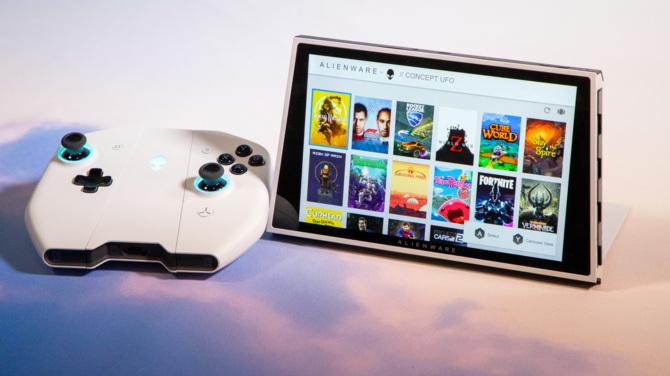 Alienware Concept UFO – przenośny komputer jak Nintendo Switch [1]