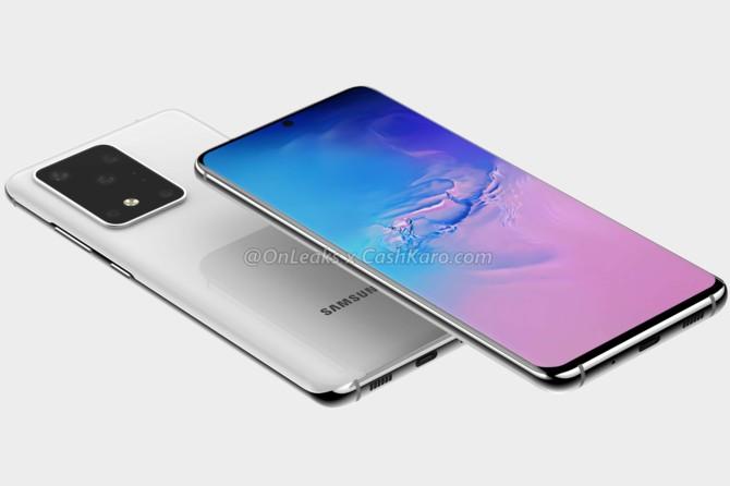 pierwsze zdjęcia flagowego smartfona Samsung Galaxy S20+ 5G [1]