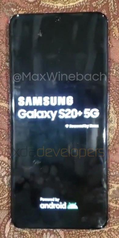 pierwsze zdjęcia flagowego smartfona Samsung Galaxy S20+ 5G [2]