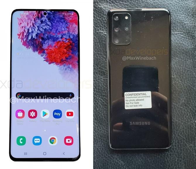 pierwsze zdjęcia flagowego smartfona Samsung Galaxy S20+ 5G [3]