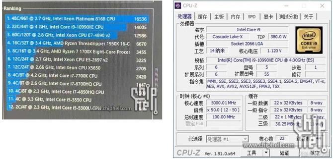 Plotka: Intel pracuje nad 22-rdzeniowym układem Core i9-10990XE [2]
