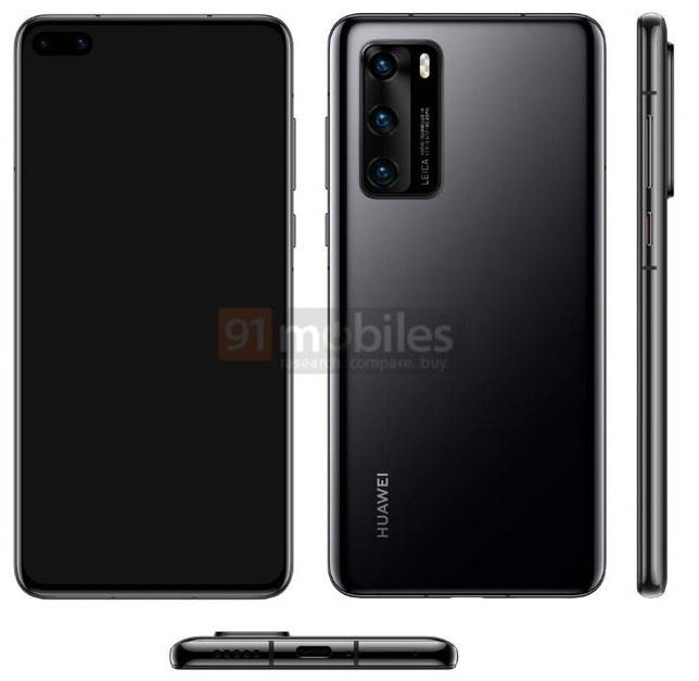 Huawei P40 - wygląd flagowego smartfona z potrójnym aparatem [2]