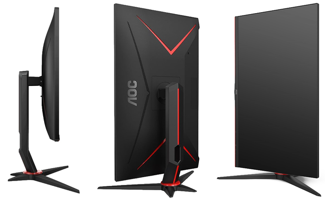 AOC Q27G2U i CQ27G2U: płaski i zakrzywiony monitor QHD [2]