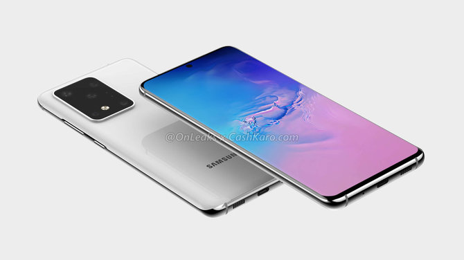Samsung Galaxy S20 Ultra na nowych renderach. Może się podobać [2]