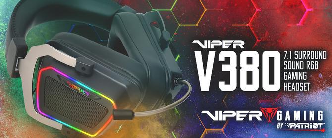 Patriot Viper V380 - premiera ciekawego headsetu 7.1 [4]