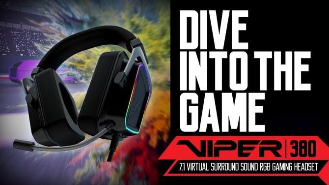 Patriot Viper V380 - premiera ciekawego headsetu 7.1 [7]