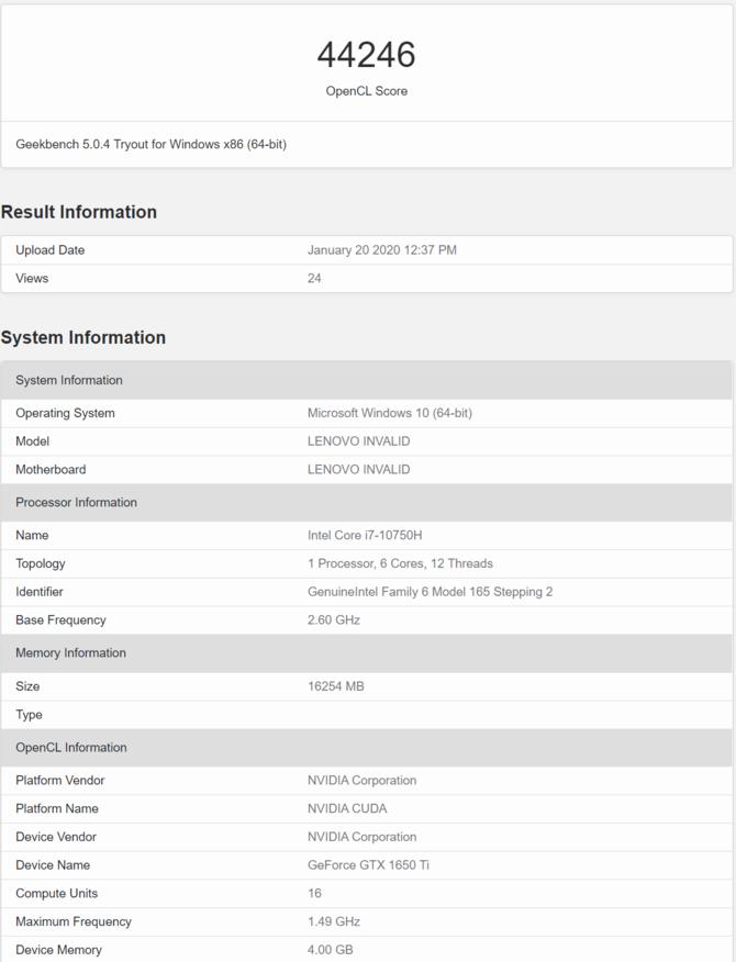 Nowy GeForce GTX 1650 oraz GTX 1650 Ti w wersjach mobilnych [2]