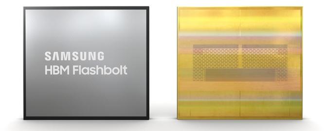 Samsung: premiera pamięci HBM2E Flashbolt o pojemności 16 GB [2]