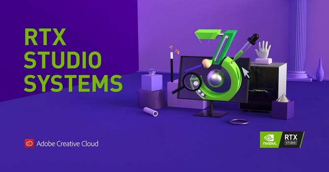 NVIDIA RTX Studio - 3 miesiące darmowego Adobe Creative Cloud [1]