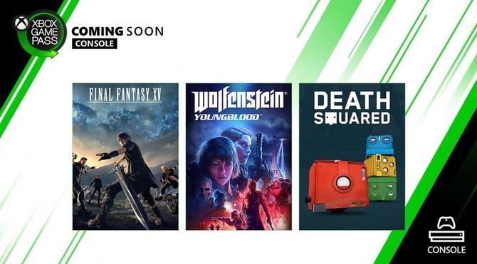 Wolfenstein: Youngblood i Final Fantasy XV w Xbox Game Pass [1]