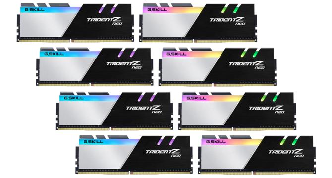 G.SKILL Trident Z Neo - 256 GB pamięci RAM dla AMD Ryzen  [1]