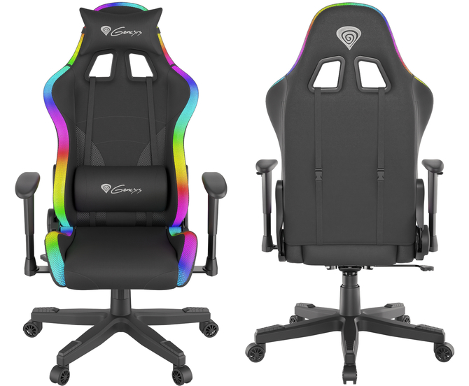 Genesis Trit 600 RGB i Trit 500 RGB - Gamingowe fotele z RGB LED [2]