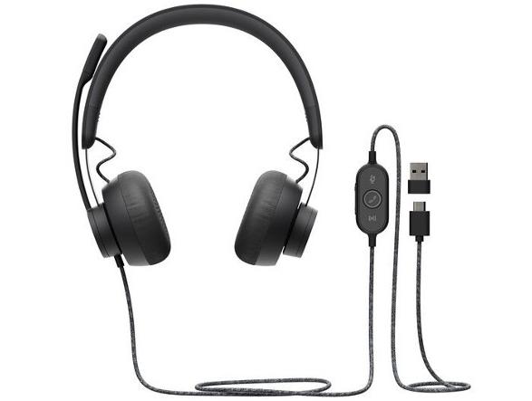 Logitech Zone Wired - słuchawki do typowej pracy biurowej [4]