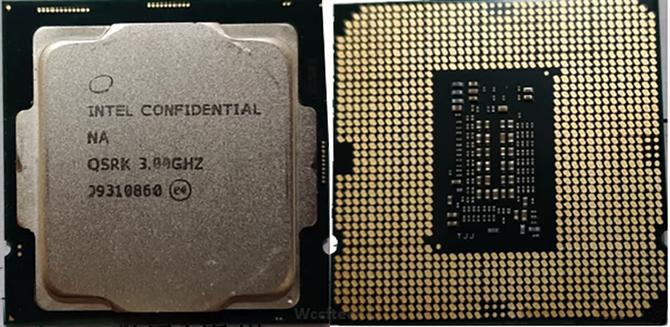 Intel Core i7-10700K ma dysponować Turbo Boost do 5,3 GHz [1]