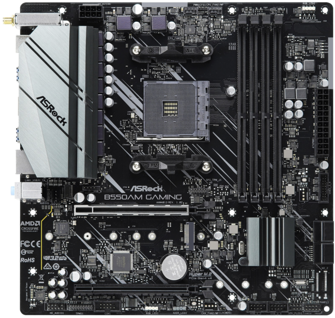 ASRock B550AM Gaming - Mała płyta główna z nowym chipsetem  [2]