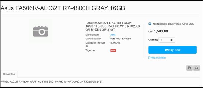 Znamy ceny laptopów ASUS TUF Gaming z układami AMD Renoir [4]