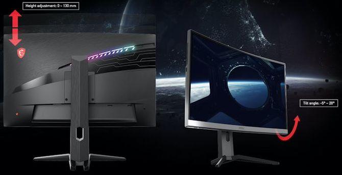 MSI Optix MAG272CRX: 27-calowy, zakrzywiony monitor 240 Hz  [3]
