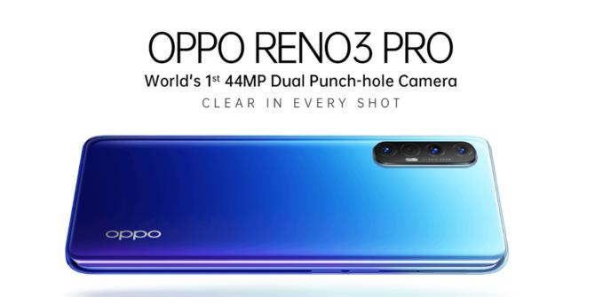Oppo Reno 3 Pro oficjalnie: dwa aparaty do selfie, w tym 44 MPix [2]