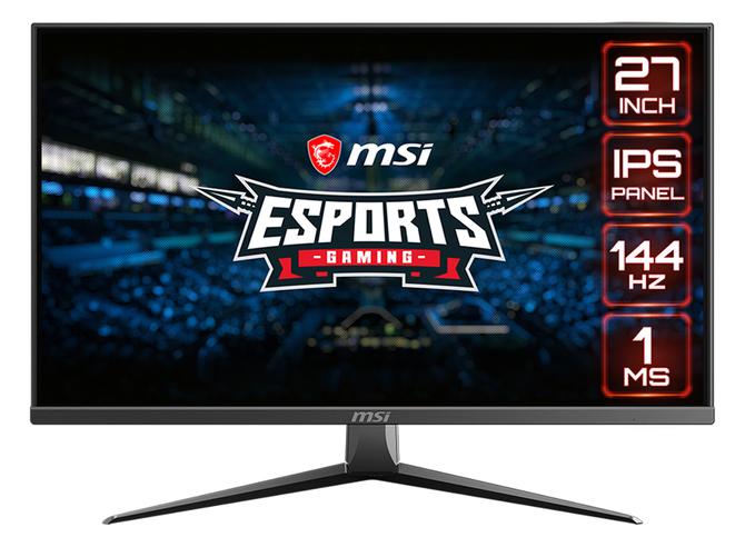MSI Optix MAG273(R) - 27-calowe monitory IPS 144 Hz do e-sportu  [1]