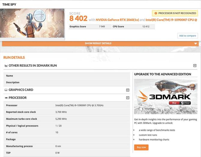 Intel Core i9-10900KF - Wydajność na poziomie AMD Ryzen 9 3900X  [1]