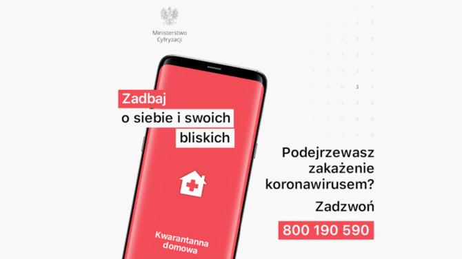 Kwarantanna domowa - aplikacja mobilna Ministerstwa Cyfryzacji [1]