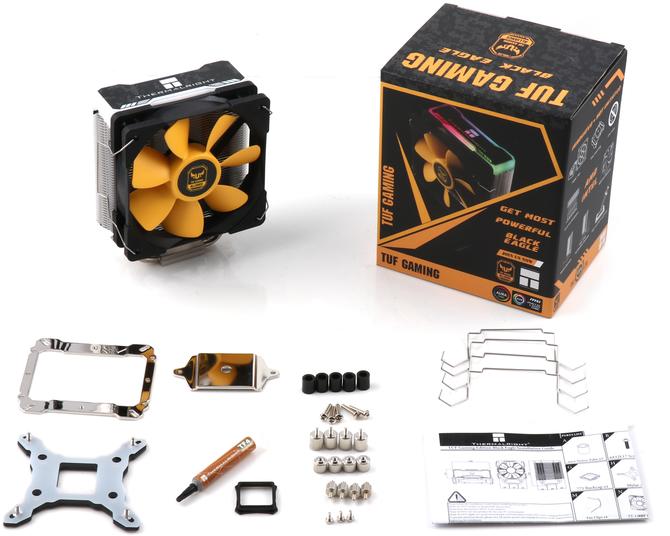 Thermalright Black Eagle - Szczupłe chłodzenie procesora z RGB LED [1]