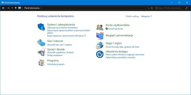 Panel sterowania może całkowicie zniknąć z Windowsa 10 [1]