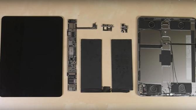iPad Pro 2020 rozebrany przez iFixit. Uzyskany efekt nie zachwyca [3]