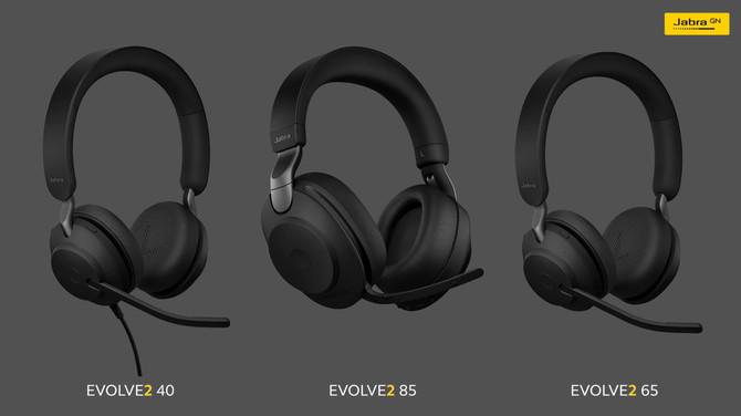 Jabra Evolve2: trzy nowe modele słuchawek celowane w biznes [5]